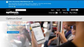 Optimum Email - Optimum
