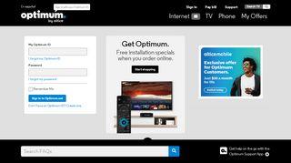 optimum.net - TV, Phone and Internet Support …