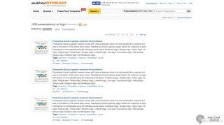 Page 1 - Login Presentations on authorSTREAM