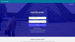 Partner Central - Login
