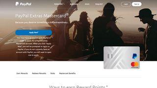 PayPal Extras Mastercard