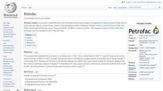 Petrofac - Wikipedia