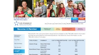 Pharmacy Benefits - US Family Health Plan- A TRICARE Prime Option ...