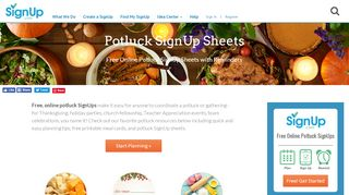 Plan the Perfect Potluck with Free Sign Up Sheets | …