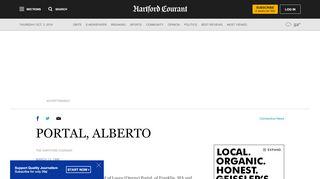 PORTAL, ALBERTO - Hartford Courant