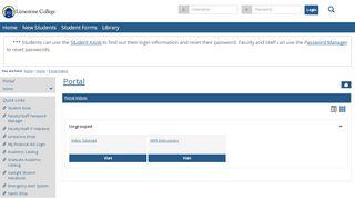 Portal Videos - Main View   Home   Portal