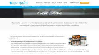 Property Portals - Agentpoint