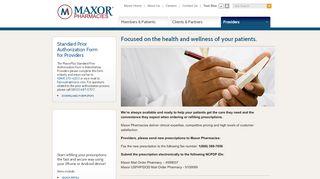 Providers - Maxor
