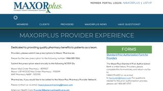 PROVIDERS | MaxorPlus