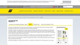 QSet™ - esab.co.uk