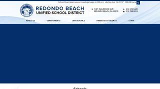 Redondo Beach Unified School District