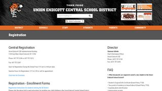 Registration - Union-Endicott