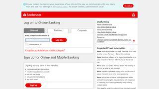 Santander Online Banking