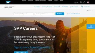 SAP Careers & Job Opportunities - SAP.com