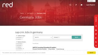 sap crm Jobs in germany - RED SAP Solutions
