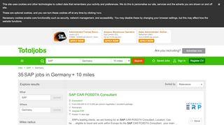 SAP Jobs in Germany   SAP Job Vacancies …