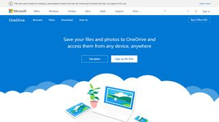 Save your files and photos to OneDrive and access them from ...