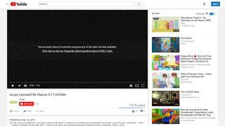 scoyo Lernwelt für Klasse 5-7   Infofilm - YouTube