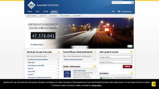 Servizi ACI - Tutti i servizi disponibili online e le App ...