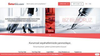 Seturbiz.com: Bizim işimiz sizin iş seyahatiniz.