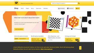 Shop der Deutschen Post | Porto online kaufen
