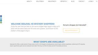 SHOPPER LOGIN - seelevelhx.com