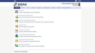 SIGAA - Sistema Integrado de Gestão de Atividades Acadêmicas