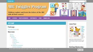 Site map | KidsSoup
