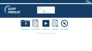 Sleep Profiler Portal - Advanced Brain Monitoring