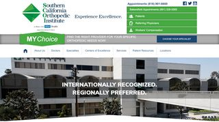Southern California Orthopedic Institute - in Alliance with ...