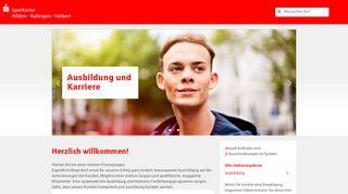 Sparkasse Hilden-Ratingen-Velbert Onlinebewerbung