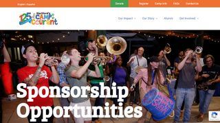 Sponsorship Opportunities | Camp Courant