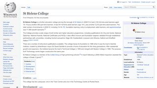 St Helens College - Wikipedia