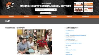 Staff - Union-Endicott Central School District