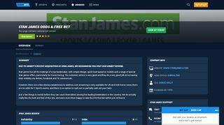 Stan James Sign Up Offer   SmartBets