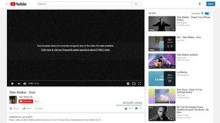 Stan Walker - Give - YouTube