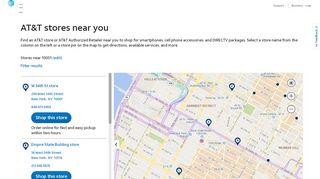 Store Locator - AT&T