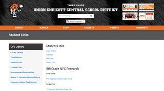 Student Links - Union-Endicott Central School District