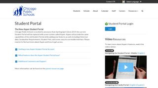 Student Portal - CPS