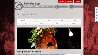 Support Berkeley Rep: Become a friend - Berkeley Repertory Theatre