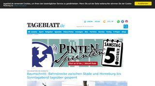 TAGEBLATT: Lokale Nachrichten aus der Region - Tageblatt.de