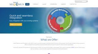 Talent Maximus - HR Services & Solutions   …