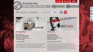 The 2019-20 season at Berkeley Rep - Berkeley Repertory Theatre