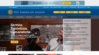The American Legion a U.S. Veterans Association