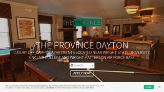 The Province (Dayton) – Off-Campus Apartments near Wright State ...