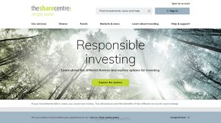 The Share Centre - Online Share Dealing Account, Stocks ...