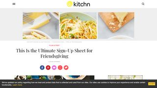 This is The Ultimate Sign-up Sheet for Potlucks | Kitchn