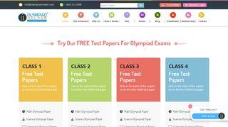 Try FREE DEMO TEST - Olympiad Helper