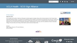 UCLA Health - SCOI Sign Alliance - Greater Conejo Valley ...