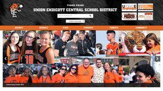Union-Endicott Central School District Home